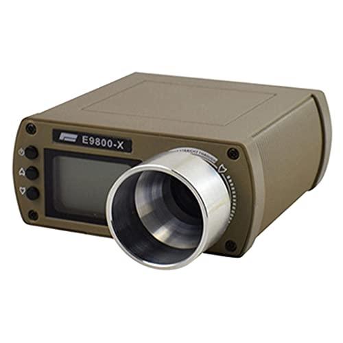 Perfeclan Probador de velocidad cronógrafo portátil herramienta de medición de alta precisión - Verde del ejército
