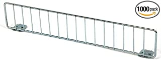 Count of 50 Chrome Finished Gondola Fence Shelf Divider 3