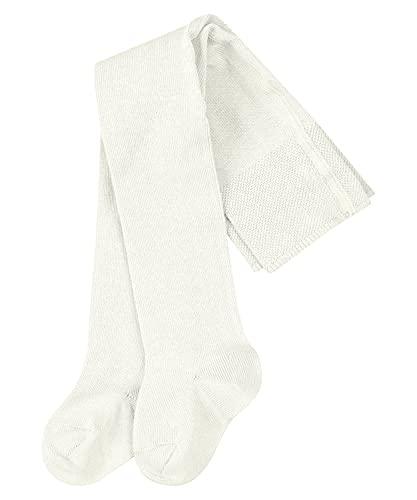 FALKE Unisex Baby Family B TI Strumpfhose, Weiß (Off-White 2040), 62-68