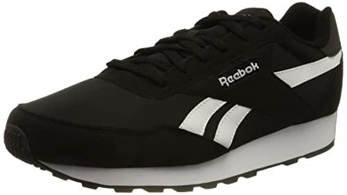 Reebok Rewind Run, Zapatillas de Running Unisex Adulto, NEGBÁS/Blanco/NEGBÁS, 45 EU