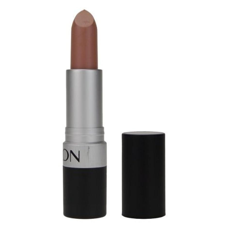応答右に渡ってREVLON Super Lustrous Lipstick Matte - Nude Attitude 001 (並行輸入品)