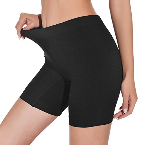 CMTOP Bragas Mujer Leggings Cortos Boxer Algodon Shorts Pantalones Deportivas Leggings Cortos Bajo Falda para...