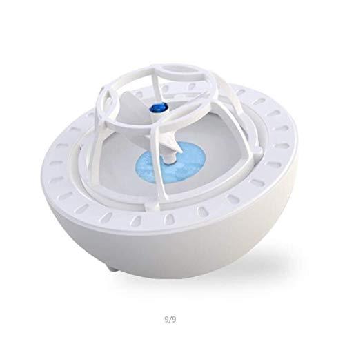 Xiao Tian Lave-Linge à ultrasons, Mini-Lave-Vaisselle, Petit Nettoyeur à Chargement électrique (Color : Blue)