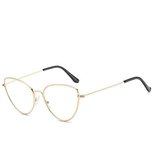 Gafas De Sol Gafas De Sol con Montura Metálica De Ojo De Gato Vintage para Mujer, Anteojos para Mujer, Anteojos De Diseñador De Lujo, Gafas 13