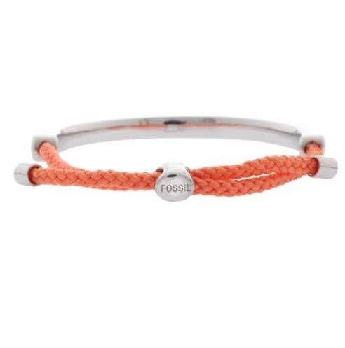 Fossil Damen Armband JA6371040 Metaal Zilver/Rosa