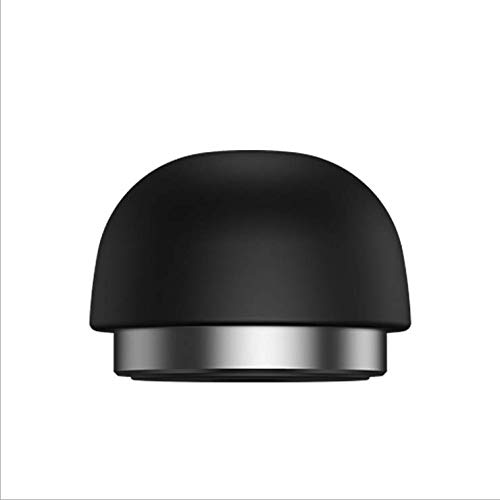 Invisible Laptop Stand, Mushroom Head Shape Stand, Easy-to-Carry Stand,Stand for All Notebooks and Books(Black)