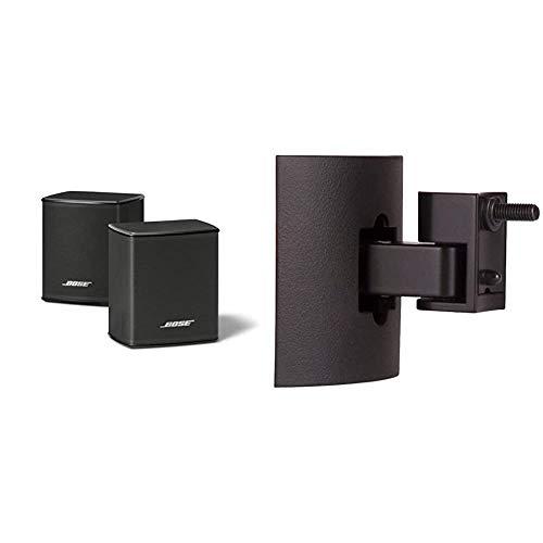 Bose - Surround Speakers, Negro + UB-20 Serie II - Soporte de Pared para Altavoces, Negro