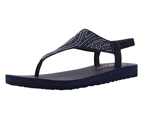 Skechers Damen 32919-NVY_38 Outdoor sandals, navy, EU