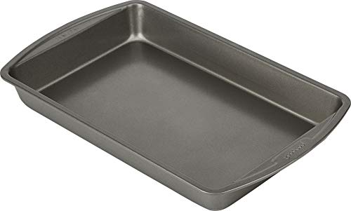 Goodcook Biscuit/Brownie Pan Nonstick Bakeware, 11 Inch x 7 Inch, Multicolor