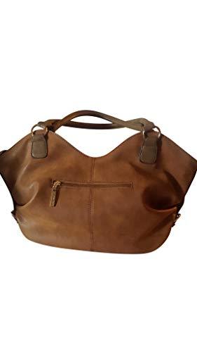 Louis Cardy Purse - Brown color