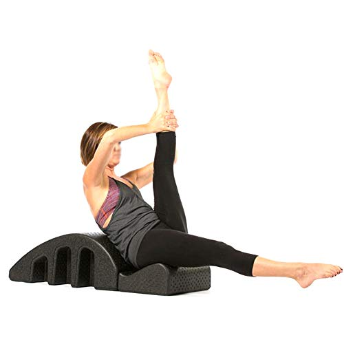 CN Cover Pilates: órtesis espinal de Yoga con Matriz de Masaje de Punto de flotación múltiple y diseño de Ranura Lateral íntima Equipo de Yoga Backbend