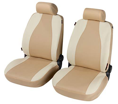 Fundas para asientos delanteros compatibles con XSARA Picasso (2000-2005) compatibles con asientos con airbag, con orificios para los reposacabezas y reposabrazos lateral.