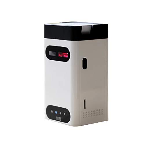 DEtrade Mode Tastatur Projektor Wireless Virtuelle Tastatur Computer Zubehör Smart Home Appliances (White)