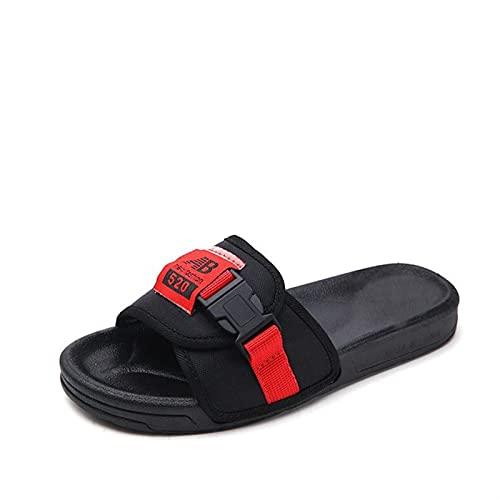Zzx Dames Sandalen en slippers Dames Summer Dragen Dik-Soled Grote Size Dames Slippers (Color : B, Size : 10)
