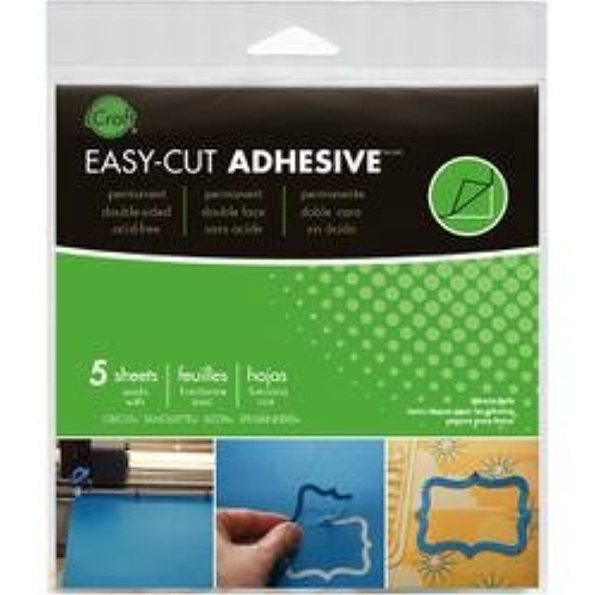 Bulk Buy: Therm O Web Adhesives iCraft Tape Sheets 5/Pkg 5.75in. x 5.75in. (4-Pack)