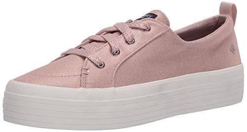 Sperry Women's Crest Vibe Platform Sneaker, Rose Gold, 12 Medium
