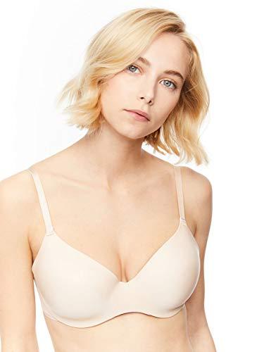 Chantelle Women's Absolute Invisible Smooth Flex T-Shirt Bra, Nude Blush, 32G (32DDDD)
