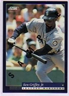 a91ba4cd89 Amazon.com: 1994 Score Samples Baseball Card #3 Ken Griffey Jr. Near  Mint/Mint: Collectibles & Fine Art