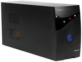 Woxter UPS 800 VA - Sistema SAI de alimentación ininterrumpida SAI (800VA/480 Watts, Autonomía aproximativamente 8-15 Minutos), Fuente de alimentación Continua, 2 Tomas Schuko