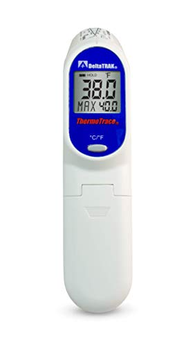 DeltaTrak 15039 Fast Accurate HACCP Infrared Thermocouple Probe Combo Thermometer Internal External Temperature