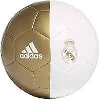adidas RM CPT Balón de Fútbol, Men's, White/Dark Football Gold, 5