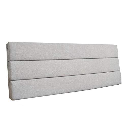 Kopfteil Kissen Kissen Rückenlehne Bett Kopfstütze, Abnehmbar Und Waschbar, Erhältlich In 5 Farben / 10 Größen FENPING (Farbe : Aprikose, größe : 180cm*50cm*5cm)