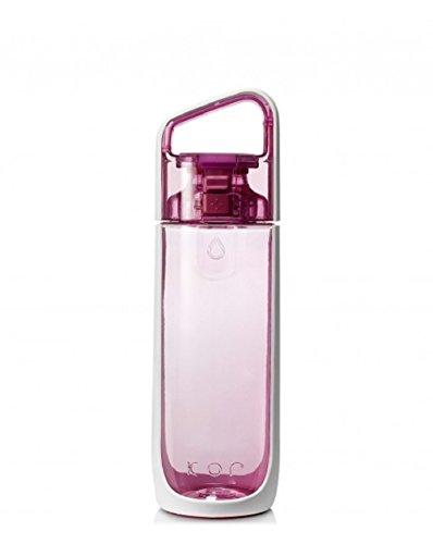 Kor Delta BPA-frei Wasser Flasche, Delta, Orchid Pink