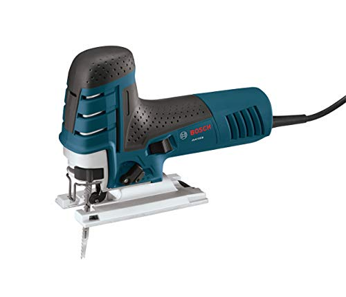 Bosch 7.0 Amp Corded Variable Speed Barrel-Grip Jig Saw JS470EB with Carrying Case,Blue
