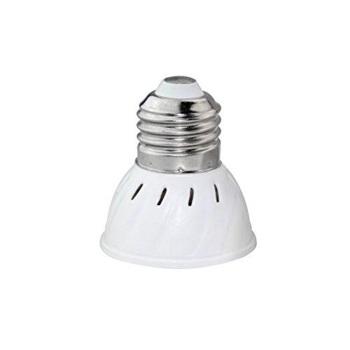 LEDMOMO LED élèvent l'ampoule, E27 6W 72 LED plantent l'ampoule pour des plantes d'intérieur Hydroponic Garden Greenhouse