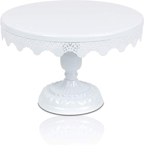 Scott's Bakery Antique Round Metal Cake Stand | Cupcake Display/Holder