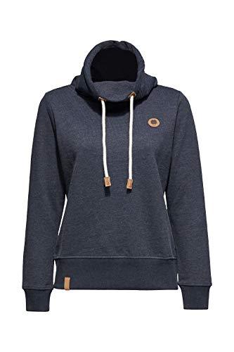 edc by ESPRIT Damen 109CC1J006 Sweatshirt, Blau (Navy 5 404), X-Small (Herstellergröße: XS)
