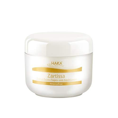 HAKA Zartissa Golden Teint I 150 ml I Tagescreme & Nachtcreme I Pflegecreme I Trockene und Reife Haut I Vitamin A + E I Mit Lipide