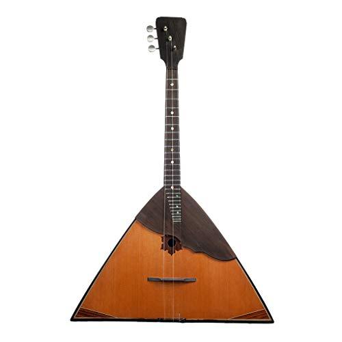 B Blesiya Russisches Balalaika Musikinstrument 3-reihiges Balalaika Russisches Volksinstrument Gitarren-Ukulele