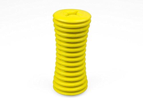 Universale Griffverdickung | Handgriffverdickung | Greifhilfe | für Besteck, Zahnbürste, Stifte | Farbe: GELB (1)