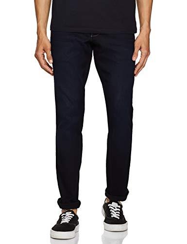 Wrangler Men's Slim Fit Jeans (W38716W22SMU_Jsw-Indigo_32W x 33L)