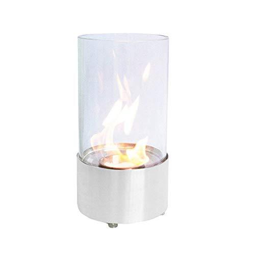 Ruby 164801 Ethanol tafellamp, wit