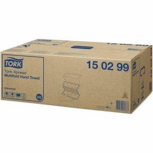 Tork Papierhandtücher Xpress Universal 21x24cm H2 Multifold 2-lagig weiß VE=20x237 Stück