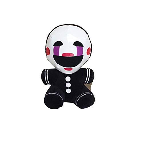 Yubingqin Five Nights At Freddy'S 4 Pesadilla Marionette Peluche Juguetes Suave Juguete Muñeca Para Niños Regalos 18cm