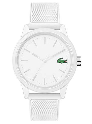 Lacoste Herren Analog Armbanduhr mit Silikonarmband 2010984