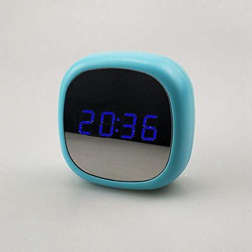 Fuqiang Baby Nachtlicht Wecker Multifunktionsspiegel Baby Kind Nacht Wecker-Blaulicht Smart Wecker