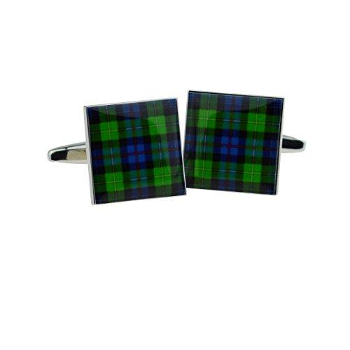 Écossais Tartan Mackenzie Boutons de Manchette (X2bocs139)