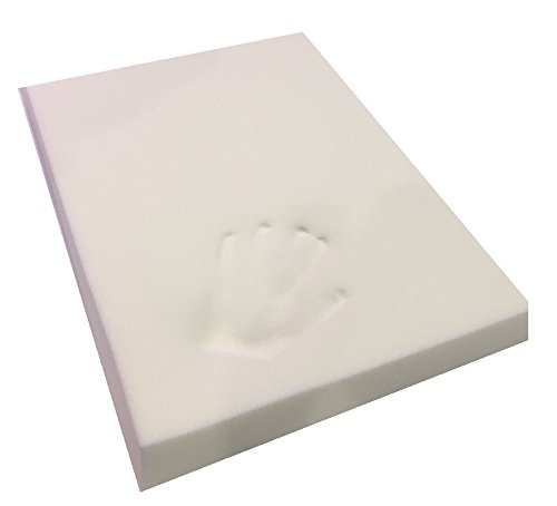 Southern Foam Memory Foam Off-Cut for Dog Beds and Cushions, 120 x 90 x 7.5 cm