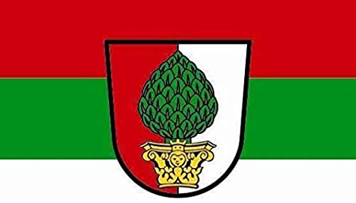 UB Fahne/Flagge Augsburg Bootsflagge Premiumqualität Neuware!!! (150 cm x 250 cm)