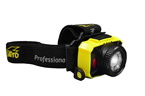 Linterna frontal LED profesional 250 LM 5500 K