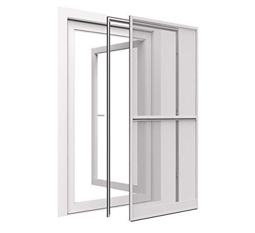 easy life Insektenschutz Tür 120 x 240 cm weiß proLINE MR15 XL Tür mit Klemmzarge - weitere Farben verfügbar