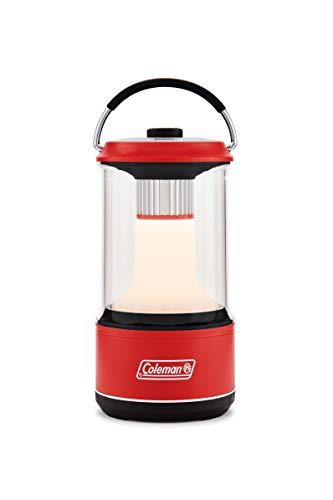コールマン(Coleman) ランタン バッテリーガード LED 1000 レッド 約直径11.0cm×21.5(h)cm 2000034245