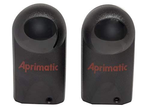 Aprimatic   er12-24v   Par de Fotocelulas Universales Para Automatización   Infrarrojos Para Exteriores   Alcance 20 M  Sensor Apertura Puerta Garaje