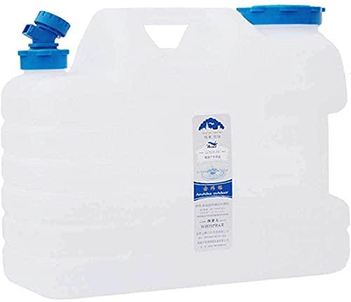 YNWUJIN 19L Outdoor Pure Water Bucket, Food-Grade Packaging Bucket, Mineral Water Bucket, Plastic Bucket, Car Wash Storage Bucket, with Faucet