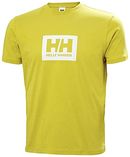 Helly Hansen HH Box T-Shirt, Uomo, Muschio Antico, Large