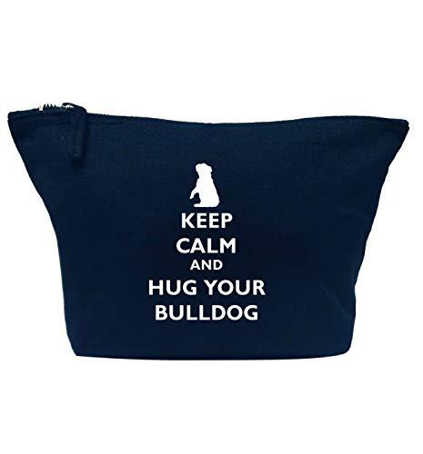 Flox Creative Trousse de maquillage Keep Calm Hug Your Bulldog